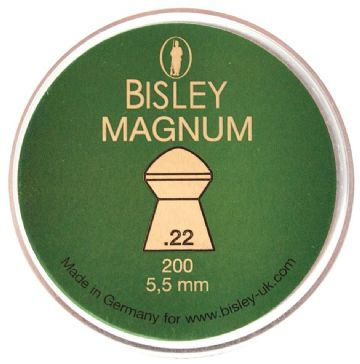 Bisley Magnum Pellets Tin 200 (5.5mm)  .22 Calibre
